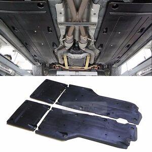 OEM Floor Rails Splash Shield Body Under Cover for HYUNDAI 2009-17 Genesis Coupe
