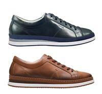 IGI & CO 11275 scarpe uomo francesine sneakers mocassini pelle blu cuoio zeppa