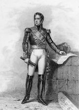 MILITARIAT GRAVURE MARECHAL DE FRANCE / Marquis de Lauriston 1768-1828