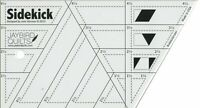 Sidekick Ruler by Julie Herman for Jaybird Quilts 3 Shapes 4 Sizes JBQ 202