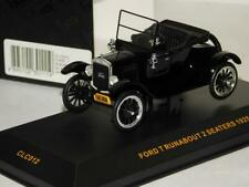 FORD T RUNABOUT 2 SEATERS BLACK 1925 OPEN IXO CLC012 1/43