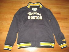 CCM Athletic Equipment BOSTON BRUINS Stitched Zippered (SM) Sweatshirt w/ Patch