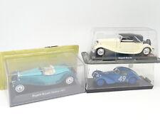 Ixo - Brumm 1/43 - Lot de 3 Bugatti