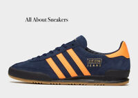 "ADIDAS Jeans ""Blue Orange"" Trainers All Size Limited Stock"