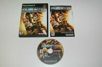 Kill Switch Video Game Sony PlayStation 2 PS2 Complete CIB VERY Fast Ship World!