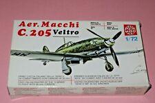 1/72 Super Model Aer. Macchi C 205 Veltro WWII Italian Fighter OOP
