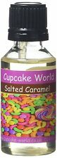 Cupcake World Salted Caramel Intense Food Flavouring Concentrates Vape 28.5 ml