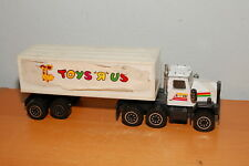 Vintage 1986 Remco Toys R Us Semi Truck & Trailer Official Store Toy RARE!