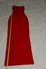 Full length red  dress/exotic dance wear