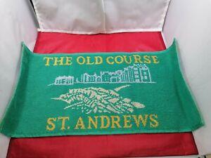 St Andrews Home of Golf Bar Towels - SLIGHT  SECONDS