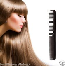 New Sally  Pro Hairdressing Barber Black Styling Comb for All Hair Preparations