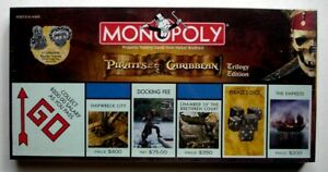 Monopoly Pirates of the Carribean Trilogy Edition, New/Sealed, 2007, USAopoly
