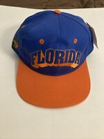 Vintage Florida Gators NCAA Snapback Hat NOS UF