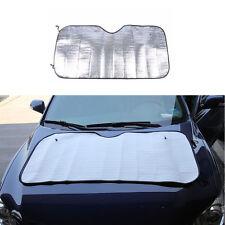 Single-sided silver 130*60cm Car Windshield Windscreen sunscreen Sunshade+Sucker