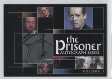 2002 Cards Inc #1 The Prisoner Autograph Series Header Non-Sports Card 0f8