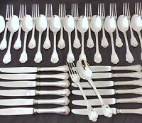 CHRISTOFLE PORT ROYAL Complete Table set 12 Place settings 36 pieces MINT Rare