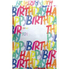 "Medium 9"" x 12"" Printed Padded Mailing Envelopes, 12 Pcs (17 Design Options)"