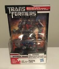 Transformers DOTM Optimus Prime Battle Scene Puzzle w/ Robot Heroes Figure 2011