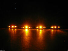 4 Universal LED TURN SIGNALS BLINKER Black Stunt Cycle Bike Motorcycle Nightster