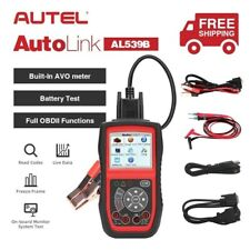 Autel AL539B OBD2 Code Reader Car Battery Circuit Starting Charging Systems Test