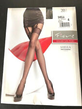 Fiore Sheila Tights with faux garter belt look,