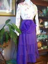 Pioneer Prairie Costume size L school Marm Trek Skirt, Blouse, Bonnet Western