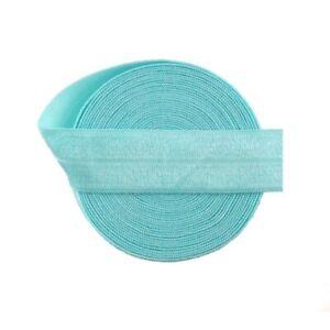 Fold Over Elastic Foe Ribbon Shiny Headband Sewing Accessories Trim Lace