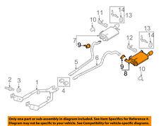 FORD OEM 11-14 Mustang 3.7L-V6-Muffler DR3Z5230G