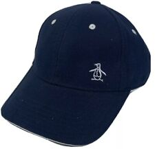 Penguin Men's Blue Navy Hat Baseball Cap One Size Adjustable