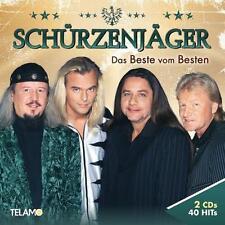 Das Beste Vom Besten von Zillertaler Schürzenjäger (2016), Neu OVP, 2 CD Set