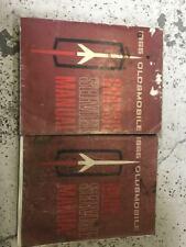 1965 Oldsmobile 442 F85 Cutlass 88 98 Service Shop Repair Manual Set Torn Cover