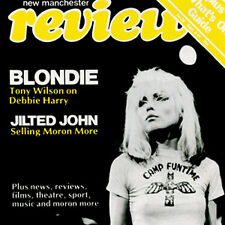 BLONDIE 1.5-inch Square Debbie Harry BADGE Button Pin NEW OFFICIAL MERCHANDISE