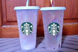 Starbucks Confetti Colour Changing Cup Rainbow 🌈
