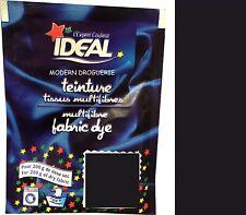TEINTURE IDEAL TEXTILE TISSU VETEMENT NOIR 17 coton lin laine polyamide