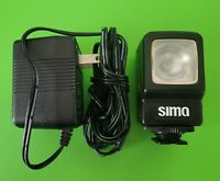 SIMA SL-9 Camera and Video Light Xenon 3-Watt w/Rechargeable Batteries & Adapter