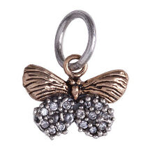 Waxing Poetic Butterfly charm natural beauty CZ NATB2-MZ
