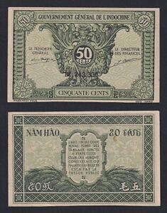 Indocina 50 cents Gouvernement Indochine 1942 SUP/AU  A-04