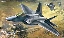 Academy 1/48 Plastic Model Kit F-22A Air Dominance Fighter #12212
