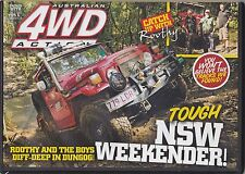 4WD Off Road Action DVD # 195  Tough NSW Weekender  Dungog  Never Viewed
