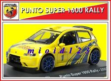 ABARTH COLLECTION : 1/43 - Fiat Punto Super 1600 Rally Abarth - 2002 - Die-cast