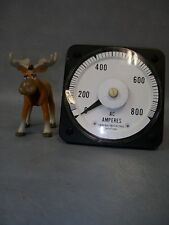 General Electric Ac 0-800 Ammeter 103131Lssn