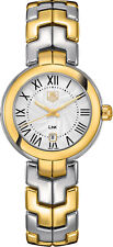 BRAND NEW AUTHENTIC TAG HEUER LINK TWO TONE WOMEN'S DRESS WATCH - WAT1452-BB0955