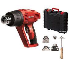 PRO Einhell 2000W PREMIUM Aire Caliente Pistola De Calor Wallpaper Stripper & Boquillas en caso