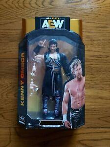 AEW UNRIVALED KENNY OMEGA WRESTLING FIGURE NEW SEALED WWE ELITE
