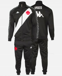 Vasco da Gama Home Soccer Football Jersey Jacket and Pants - 2020 Kappa Brazil