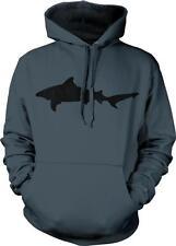 Bull Shark Silhouette Week Ocean Animal Hoodie Pullover