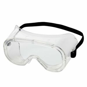 Sellstrom S81220 Flexible, Soft, Non-Vented, Protective Safety Goggle Clear Body