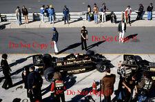 Mario Andretti JPS Lotus 79 USA East Grand Prix Watkins Glen 1978 Photograph