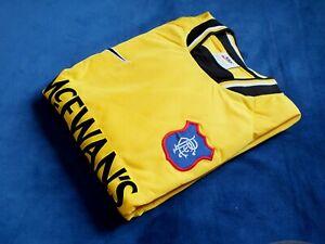Rare BNWT Nike Rangers 1997-98 Player Issue Goram Style Goalkeeper Shirt Large