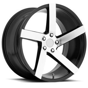 "Polaris Slingshot 22/22"" Wheels and Tires Package #2"